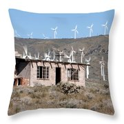 California Wind Throw Pillow