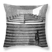 California: Winery, 1864 Throw Pillow