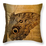 Caligo Throw Pillow