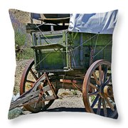 Call Road Service Throw Pillow