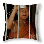 Call To Prayer Throw Pillow