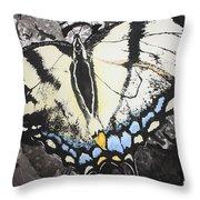 Callaway Tiger Swallowtail Butterfly Throw Pillow