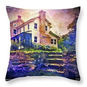 Calm Before The Storm Throw Pillow by Kevyn Bashore