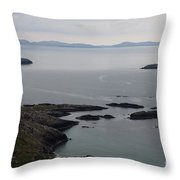Calm Sea Throw Pillow