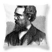 Calvert Vaux (1824-1895) Throw Pillow
