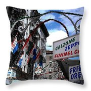 Calzone Time Throw Pillow