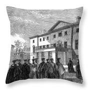 Cambridge University, 1862 Throw Pillow