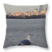 Camden Bird Throw Pillow