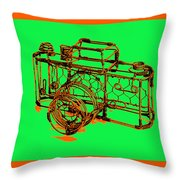 Camera 1c Throw Pillow