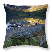 Cameron Lake, Alberta, Canada Throw Pillow