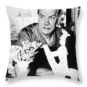 Camilo Cela (1916-2002) Throw Pillow by Granger