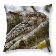 Camouflaged V3 Throw Pillow