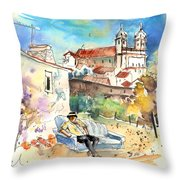 Campo Maior In Portugal 03 Throw Pillow