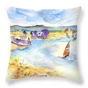 Campo Maior In Portugal 04 Throw Pillow