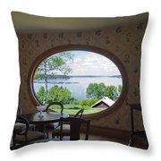 Campobello Island Roosevelts House Throw Pillow