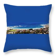 Camps Bay Beach Throw Pillow