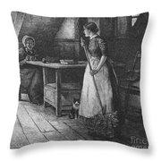 Canada: Daily Life, 1883 Throw Pillow