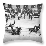 Canada: Mounted Police, 1919 Throw Pillow