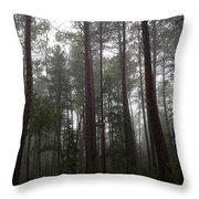 Canadian Forest Throw Pillow