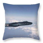 Canberra Bi 8 Throw Pillow