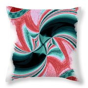 Candid Color 16 Throw Pillow