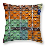 Candy Cage Throw Pillow