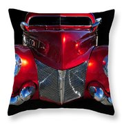 Candy Red Throw Pillow