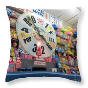 Candy Wheel  -  Seaside Throw Pillow