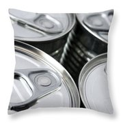 Canned Food Throw Pillow