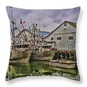 Cannery Hdr Throw Pillow