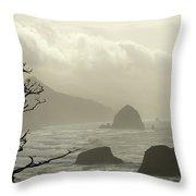 Cannon Beach 2 Throw Pillow
