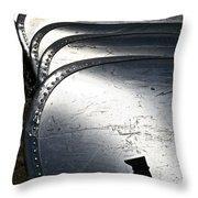 Canoe Row Throw Pillow