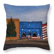 Canon City Facades - Posterized Throw Pillow