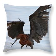 Canopy Hunting Throw Pillow