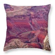Canyon Colors 2 Throw Pillow
