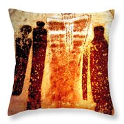 Canyon Ghosts Throw Pillow