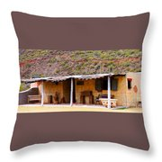 Southwest Canyon Hacienda Throw Pillow