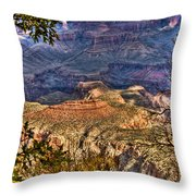 Canyon View II Throw Pillow