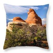 Canyonlands Needles Throw Pillow