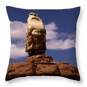 Canyonlands Santa Claus Throw Pillow