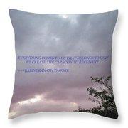 Capability Throw Pillow by Sonali Gangane