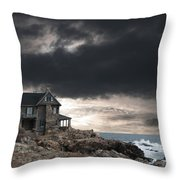 Cape Arundel Revisited Throw Pillow