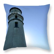 Cape Blanco Light 2 Throw Pillow
