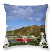 Cape Clear Island, Co Cork, Ireland Throw Pillow