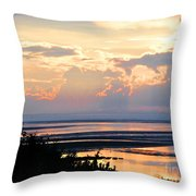 Cape Cod Beach Brewster Throw Pillow