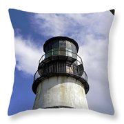 Cape Disappointment Lighthouse 001 Throw Pillow