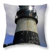 Cape Disappointment Lighthouse 002 Throw Pillow