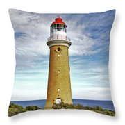 Cape Du Couedic Light House Throw Pillow