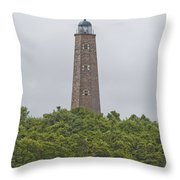 Cape Henry Light - Old Throw Pillow