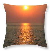 Cape May Sunset Throw Pillow